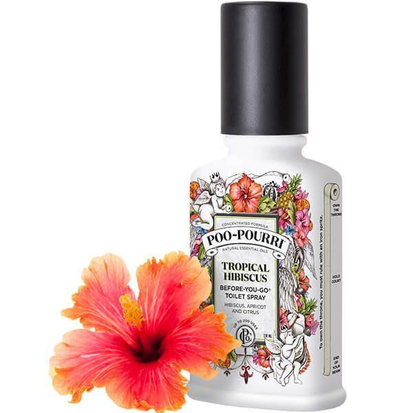 Doftspray, Tropical Hibiscus är en uppfriskande blandning av hibiskus, aprikos och citrus av naturliga eteriska oljor.